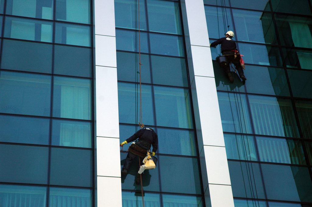 window washing london