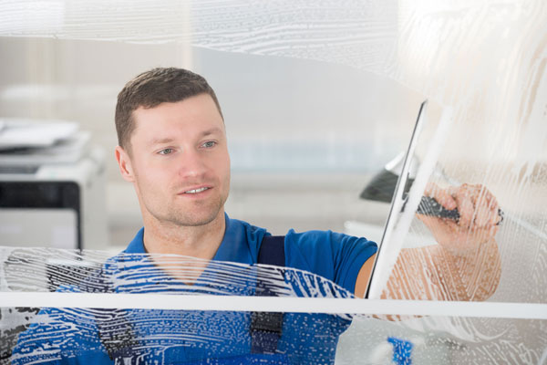 window cleaner london